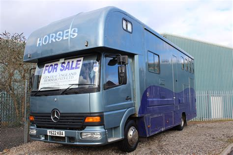 For Sale by Luxury Mercedes 7 5t Horsebox For Sale Central
