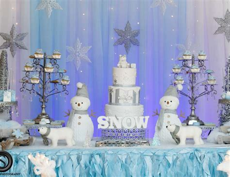 Winter Themed Baby Shower - winter theme baby shower quot let it snow