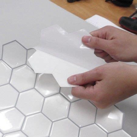 Pearl Hexagon StickTILES? Peel & Stick Backsplashes   Peel
