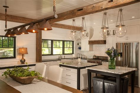 rustic kitchen island lighting copper light fixtures kitchen traditional with copper