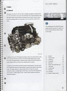 Fs 2014 911  991 Gt3 Service Information Manual  Book