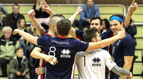 «RTU/Robežsardze» starp astoņām labākajām Baltijas volejbola «Credit24» meistarlīgas čempionātā ...