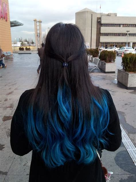 33 Best Pictures Hair Tips Dyed Blue Top 5 Black Brown