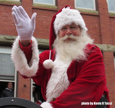 Of Santa by Brockton Weather Doesn T Diminish Parade