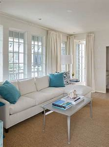Neutral, Living, Room, With, Pops, Of, Turquoise
