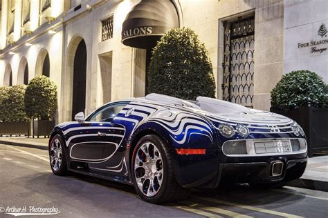 2018 bugatti veyron vivere mansory car seen from outside and inside. Gallery: Bugatti Veyron L'Or Blanc in Paris by Arthur H ...