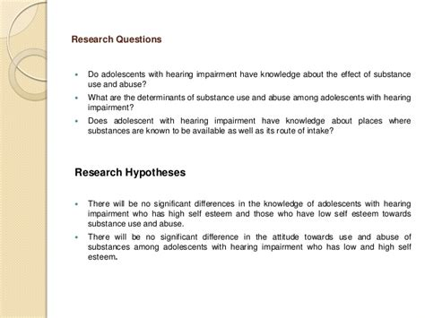research topics  drug abuse research topics
