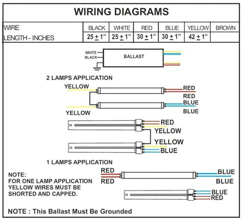 T12 Wiring Diagram by T12 Ballast Wiring Diagram