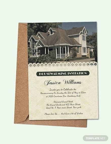 house template for photo card 15 amazing housewarming invitation templates psd