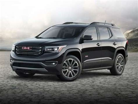 2019 Gmc Acadia Models, Trims, Information, And Details