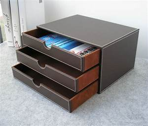 popular leather file cabinet buy cheap leather file With document drawer