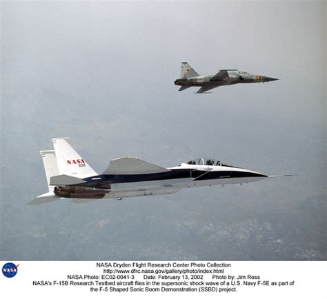 Nasa's F-15b Research Testbed Aircraft