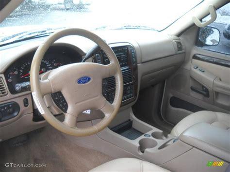 Medium Parchment Interior 2005 Ford Explorer Limited 4x4
