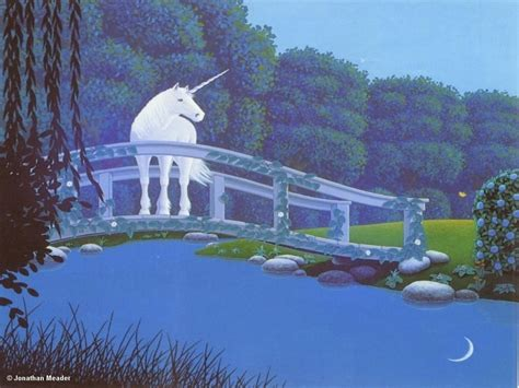 tranquil waterswallpaper unicorns wallpaper