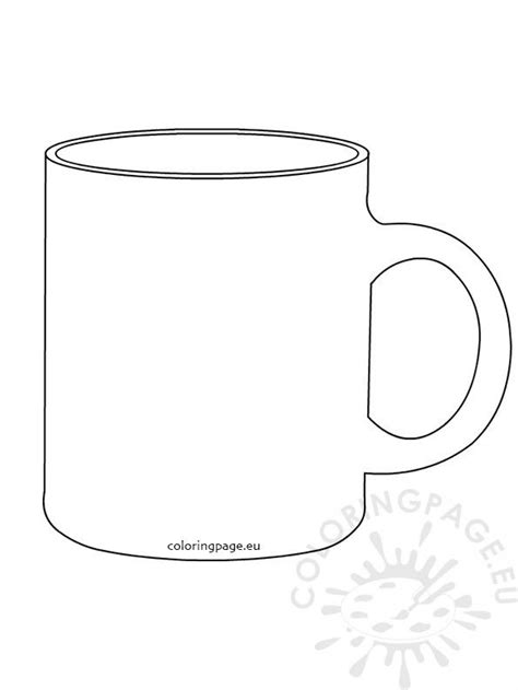 Mok Kleurplaat by Coffee Mug Coloring Page Cup Coloring Page Awesome Free