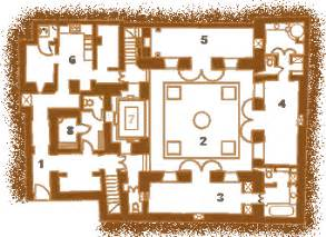 small house plans with open floor plan plan and layout of the riad jmya in marrakech