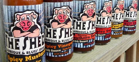 the shed barbeque sauce the shed bbq sauce spicy mustard spicy vinegar