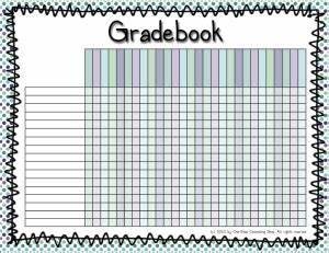 Free Grade Book Organization Binder Gradebook Seating Charts Grade
