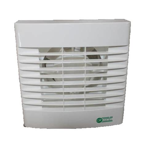 Ventilation Fan with Run on Timer 100mm 4 Air Vent Axial