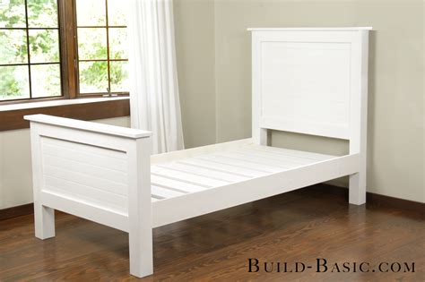 Build A Diy Twin Bed ‹ Build Basic
