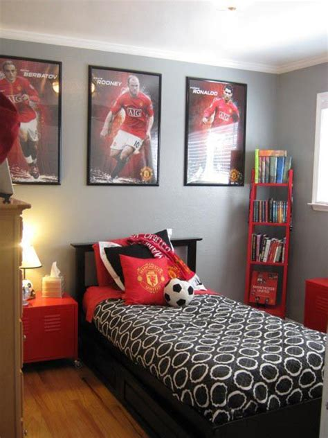 soccer bedroom decor 15 awesome soccer bedrooms home design and interior