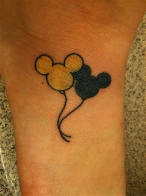 outline mickey mouse tattoos