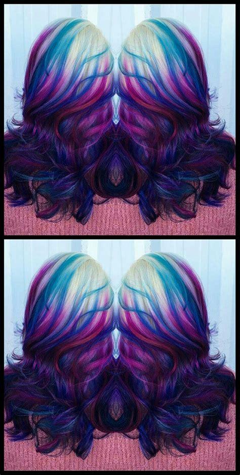 Best 25 Funky Hair Colors Ideas On Pinterest Dark