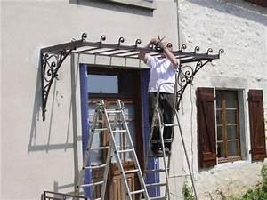Marquise De Porte Ancienne : marquises ferronnerie d 39 art ~ Dailycaller-alerts.com Idées de Décoration