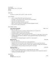 Objective Exles For Resume For Waitress by Waitress Resume Best Template Collection