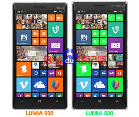 render compares nokia lumia 830 with the lumia 930 gsmarena news