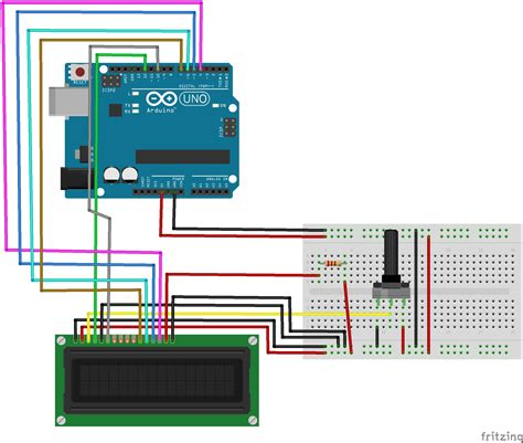 Using Lcd With Arduino Hackster