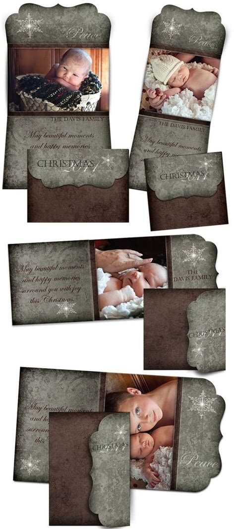 Trifold Template Album Ideas by Christmas Card Design Yule Tide Tri Fold Luxe Card
