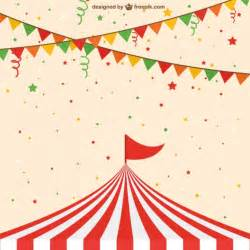 backdrop frame circus tent vector free