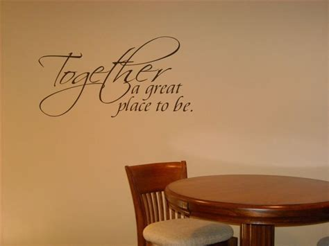 Dining Room Wall Quotes  Expressive Walls