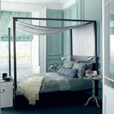 Turquoise Bedroom  Transitional  Bedroom  House To Home