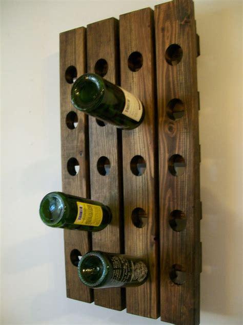 wooden wine rack wall wine rack wood handmade rustic country