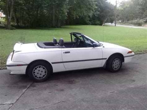 books on how cars work 1992 mercury capri transmission control sell used 1992 mercury capri base convertible 2 door 1 6l in huntsville alabama united states