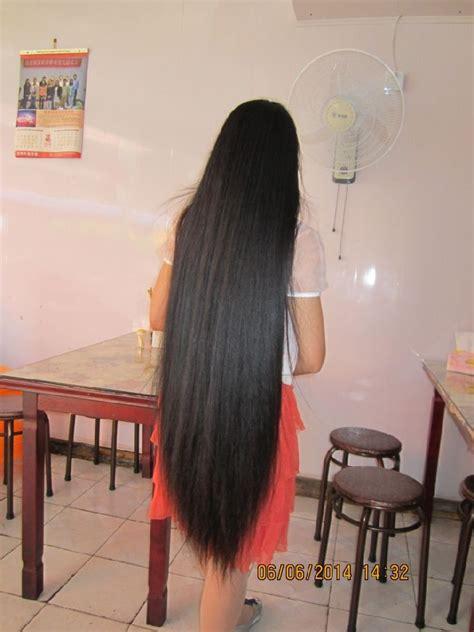 super thick long braid  young girl chinalonghaircom