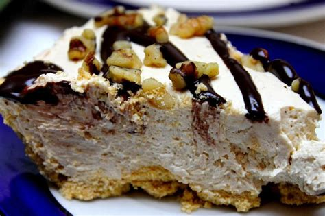 Both peanut butter and sunbutter work great in this recipe. (Almost) Sugar-Free Peanut Butter Pie | Sugar free peanut butter, Sugar free pie, Peanut butter pie