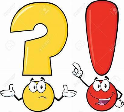 Question Mark Cartoon Clipart Exclamation Characters Clipground