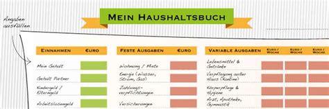 haushaltsbuch fuehren  geniale tipps heimarbeit