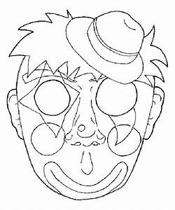 clown masker maken
