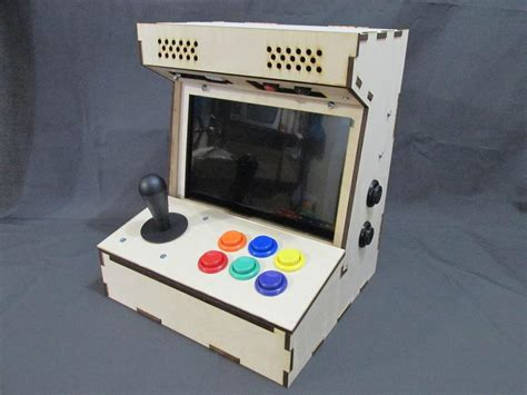 4 Player Arcade Cabinet Kit by Diy Arcade Cabinet Kits More Porta Pi Arcade 10 Quot Hd