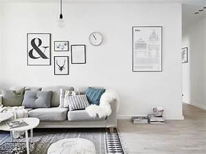 Idée Déco Salon Scandinave : d co salon scandinave astuces design et id es l gantes ~ Melissatoandfro.com Idées de Décoration
