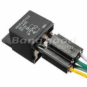 12v 12 Volt 30  40a Automotive Relay With Socket 30 Amp    40 Amp Relay
