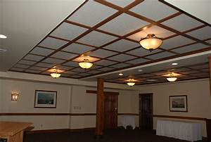 WoodGrid® Coffered Ceilings by Midwestern Wood Products Co