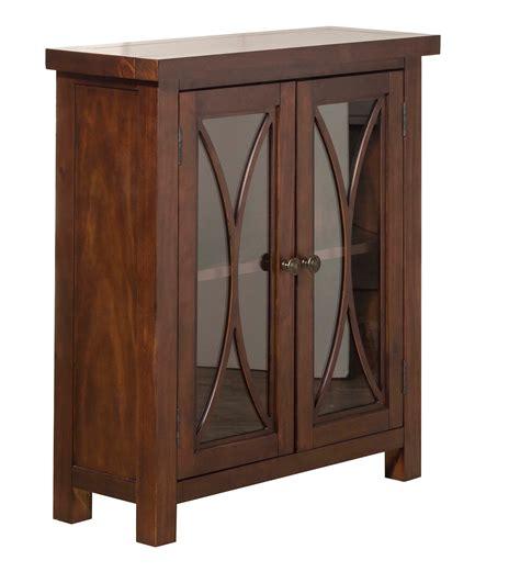 bayside cabinets hillsdale bayside 2 door cabinet mahogany hd 6281 891c