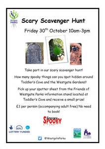 Halloween Scavenger Hunt Clues by Scary Scavenger Hunt Friday 30th October