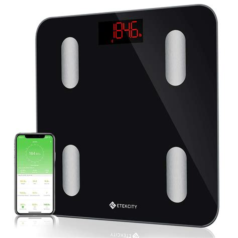 Bathroom Scale Android App by Etekcity Smart Bluetooth Scale Digital Bathroom