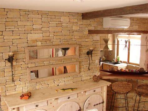 cuisine dans maison ancienne imastone fabrication de pierres de parement